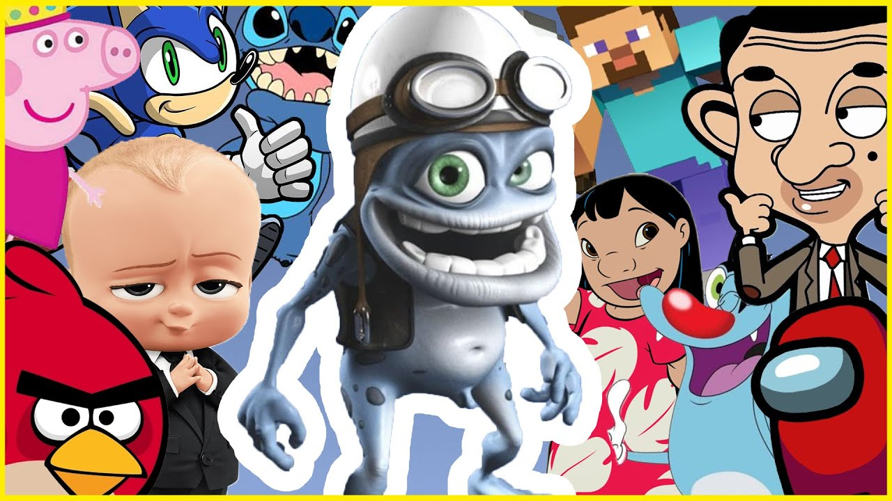 Crazy Frog - Animated Films and Movies COVER