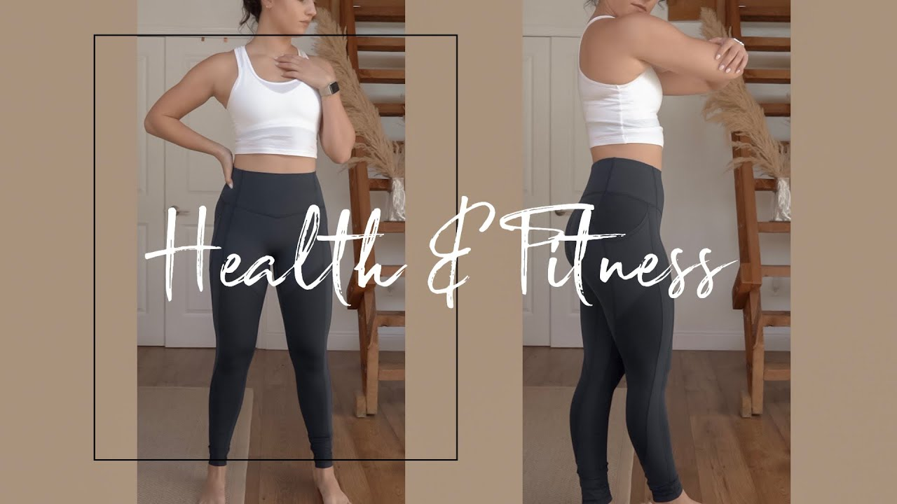 My Health & Fitness Goals/Tips Feat. lululemon | Gemary image