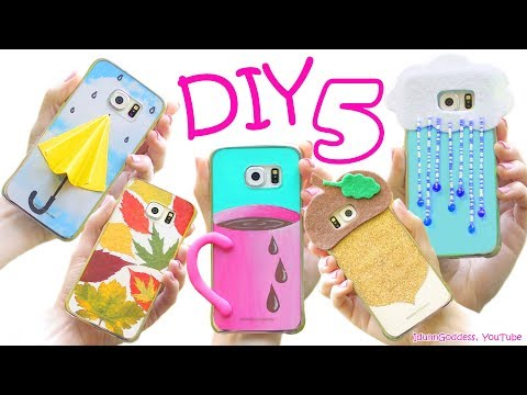 Thumbnail: 5 DIY Fall Phone Cases - How To Make Cute Phone Cases For Autumn