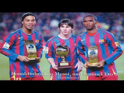 Ronaldinho, Messi & Eto'o - Memories | FC Barcelona 2005/2006 | HD