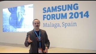 видео Компания Samsung представила 18,4-дюймовый планшет