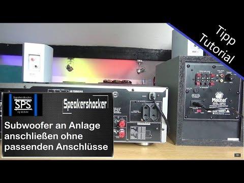 subwoofer-an-jeder-stereoanlage-anschließen-ohne-passende-anschlüsse