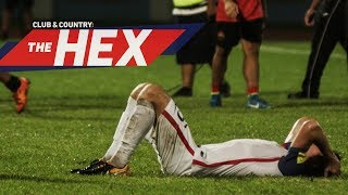 Heartbreak for USMNT in Trinidad