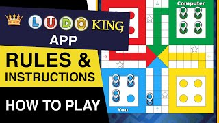How to play LUDO King FREE Online Game? Rules of LUDO King : LUDO King Game Play