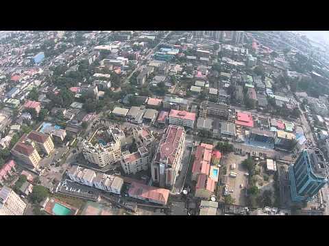 Aerial View of Victoria Island, Lagos Nigeria