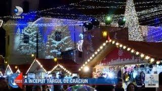Stirile Kanal D (16.11.2019) - A inceput targul de Craciun! Mii de turisti, romani si straini!