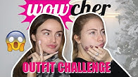 BUDGET WOWCHER OUTFIT CHALLENGE! | Syd and Ell AD
