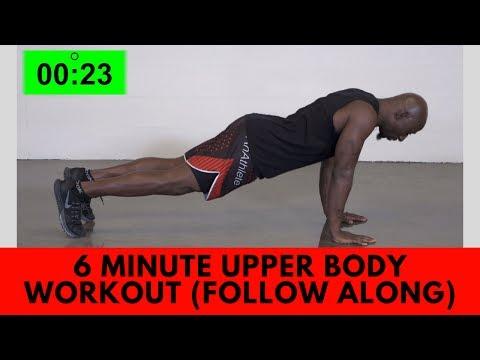 6 Minute Bodyweight Workout (Follow Along)