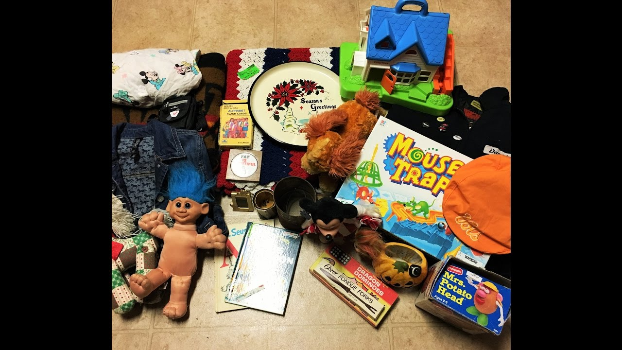 Vintage Toys & More... Yard Sale Haul to Sell on Etsy and Ebay! Oct 15th 2016