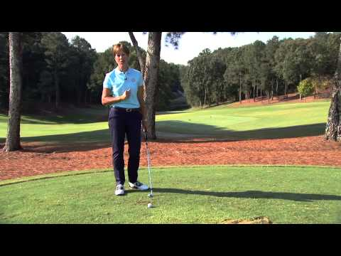 Golf Instruction Suzy Whaley Golf Stop Hitting Thin and Fat Shots