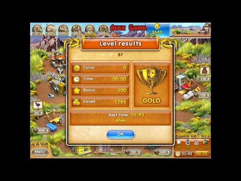Farm Frenzy 3 American Pie (level 87) Only GOLD Веселая ферма 3 Американский пирог Уровень 87 Золото
