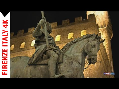 Firenze (Florence) Italy 4K Video