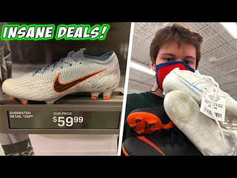 Soccer Cleat DEAL HUNTING! The Finds Are BACK- $20 Mercurial At Burlington