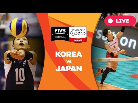 Korea v Japan - 2016 Women