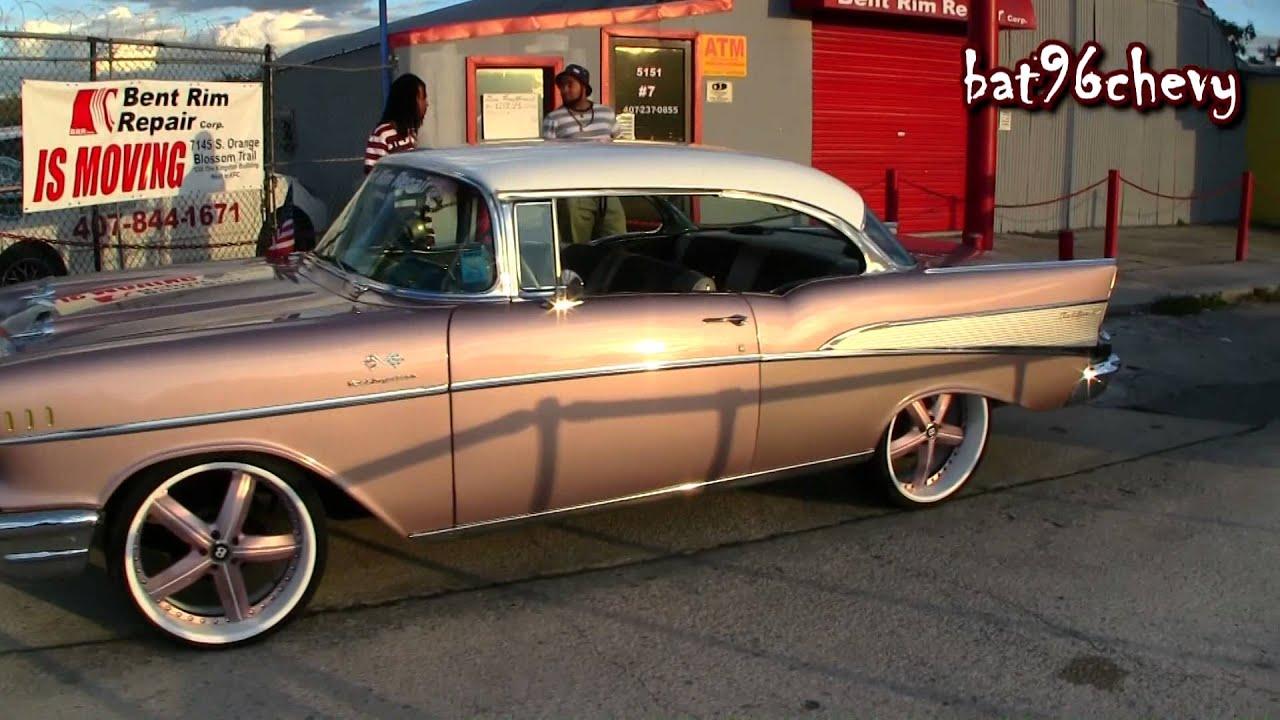 Bent Rim Repair 1957 Chevy Bel Air On 22 Quot 3pc Wheels