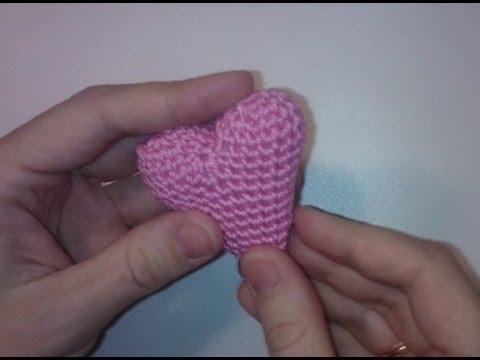 Объемное маленькое сердечко