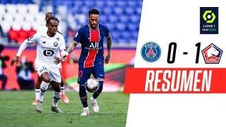 NEYMAR VIO LA ROJA Y LILLE LOGRÓ UN TRIUNFAZO PARA SER LÍDER EN FRANCIA | PSG 0-1 Lille | RESUMEN