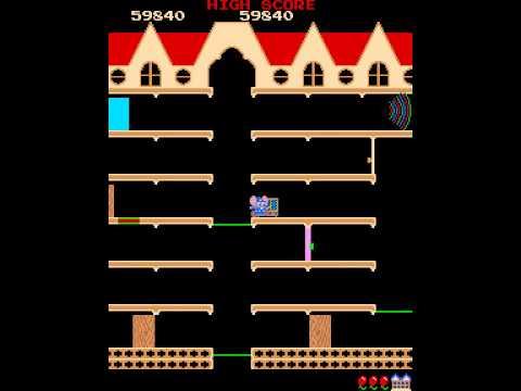 Arcade Game: Mappy (1983 Namco)