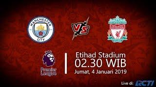 Jadwal Live RCTI Liga Inggris, Manchester City vs Liverpool, Jumat Pukul 02.30 WIB