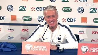 Didier Deschamps : « Il n'y a rien au-dessus de l'équipe de France »