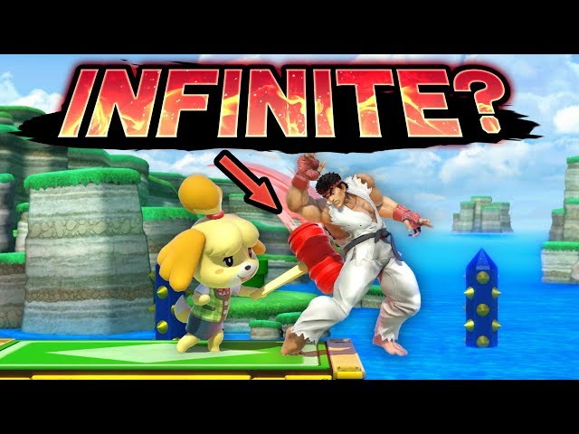 Smash Ultimate - Isabelle's Inescapable Jab Combo (Wobelle)