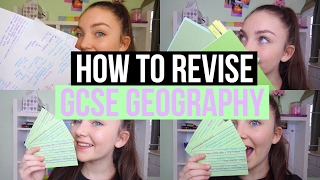 HOW I REVISE GEOGRAPHY|Floral Sophia