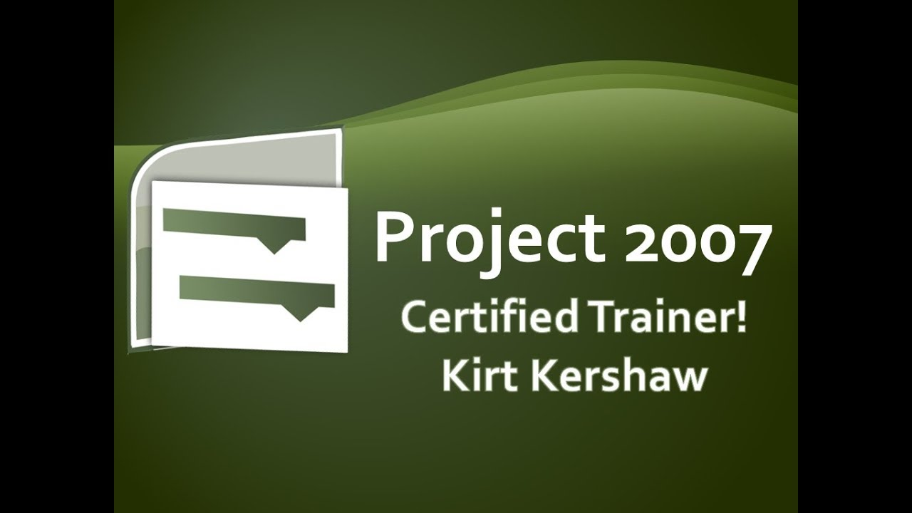 Project 2007: Export To Excel