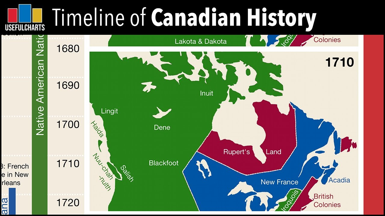 Map Of Canada History.Quick Overview Of Canadian History