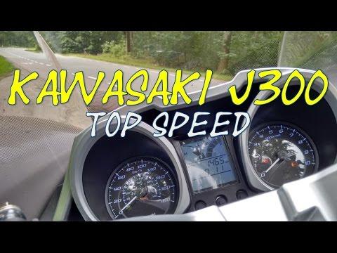 Kawasaki J300 Top Speed Youtube