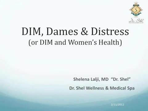 Women's Health and Diindolylmethane (DIM)