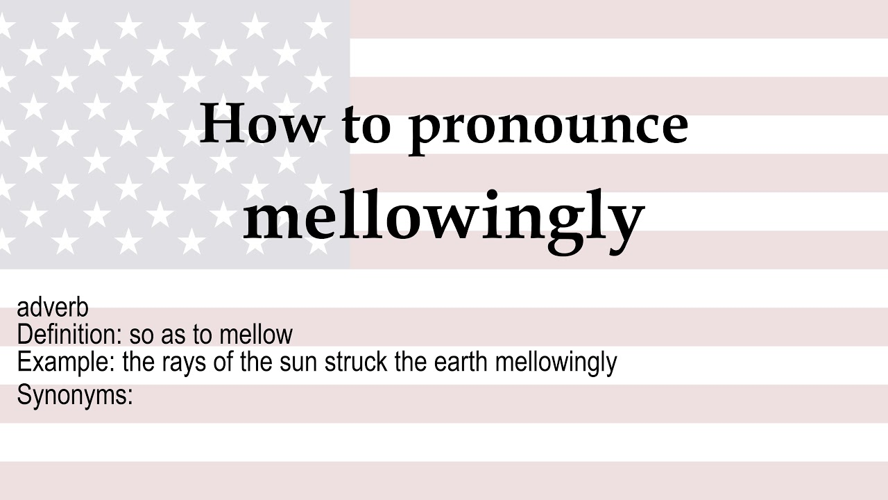 mellowingly - YouTube
