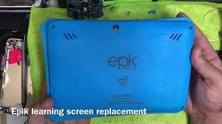 Epik learning tablet screen replacement