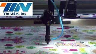 YIN CNC Laser Cutting Machine w/Camera (Cutter)  HYL1390V