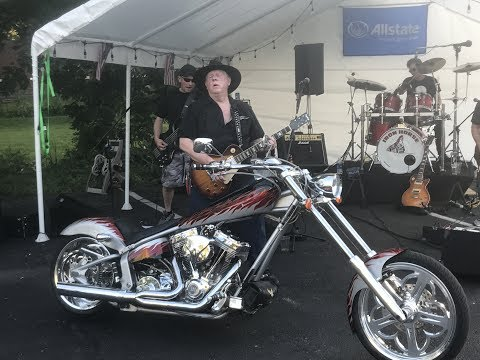 Iron Horse Performs At Bike Night In Owego
