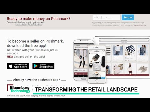 Poshmark Co-founder on the Changing Retail Landscape - YouTube