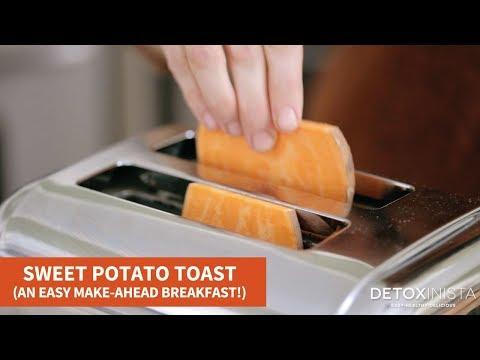 Sweet Potato Toast (An Easy Make-Ahead Breakfast!)
