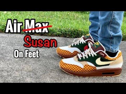 check out f1dfd c87cb Air Max 1 Susan on Feet