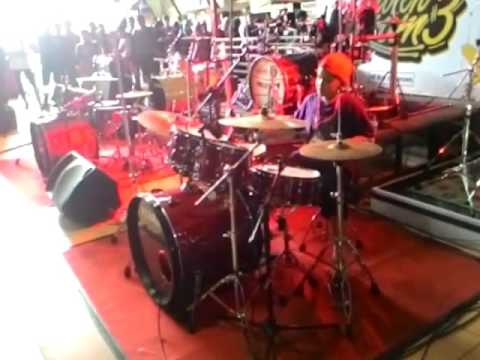 farrell dzikrillah drumer kid,  cover hoobastank - the reason