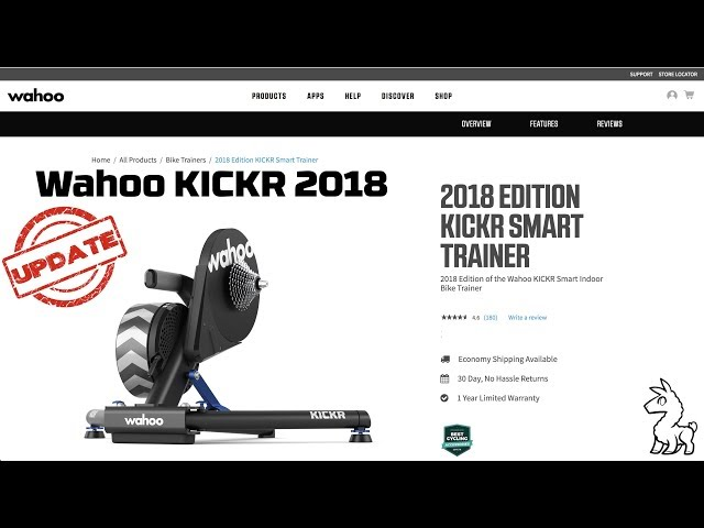 Wahoo KICKR 2018 Smart Trainer: Product Details // Ride Review // Sound Check