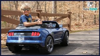 Power Wheels Smart Drive Mustang Ride On Cars for Kids Battery Powered 12V Toy Review