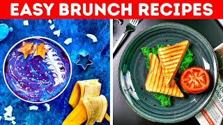 Easy BRUNCH Ideas  5-Minute Recipes to Improve Your Cooking Skills!