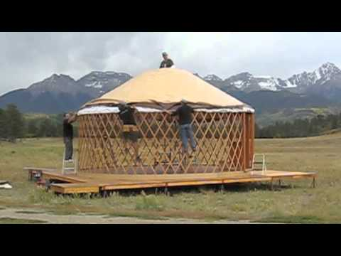 How It S Made Colorado Yurt Company Yurt Pitch Behind The Scenes Youtube A permanent platform costs ~$15/sq. how it s made colorado yurt company yurt pitch behind the scenes