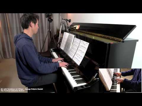 Air with Variations: The Harmonious Blacksmith (Handel)
