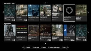 SKYRIM PS4 MOD LIST