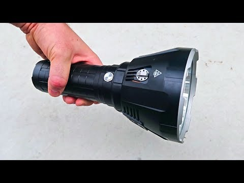 World's Brightest Flashlight 100000 Lumens