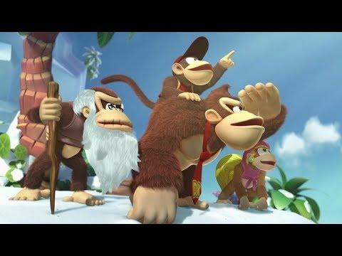 Donkey Kong Country: Tropical Freeze Co-op Walkthrough - World 6 + Final Boss (All Collectibles)
