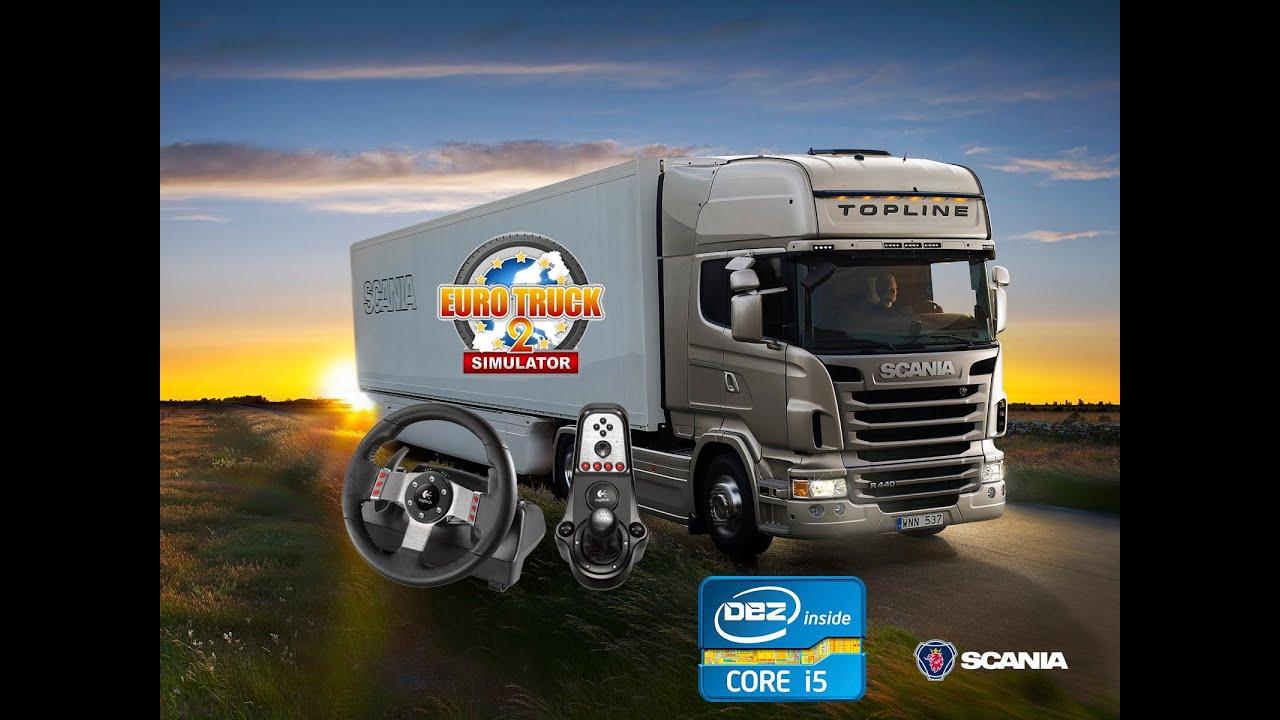 configurer un volant sur euro truck simulator 2 youtube. Black Bedroom Furniture Sets. Home Design Ideas
