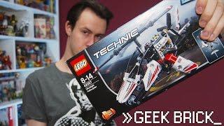 """[Geek-Brick Обзор] LEGO Technic 42057 """"Легкий вертолет"""""""