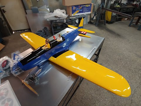 Fairchild PT-19 Giant Scale ARF Seagull Models Unboxing
