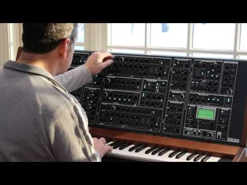 Schmidt 8 Voice Analog Polyphonic Synthesizer Demo